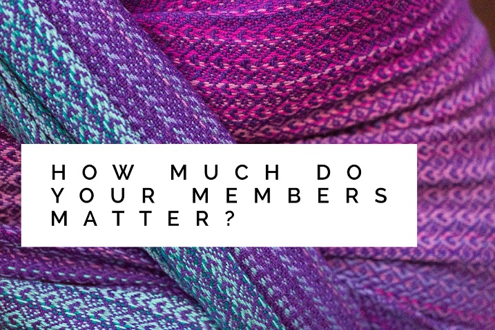 Personal Touch: How Much do Your Members Matter?