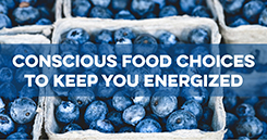 Conference Crash Course: Conscious Food Choices to Keep You Energized