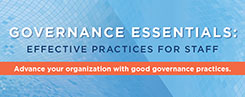 Mark Engle and Erin Volland to Present Governance Essentials August 13