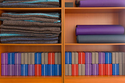 yoga supplies